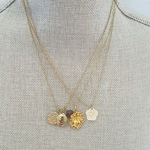 Jewelry - Three Gold Costume Necklace
